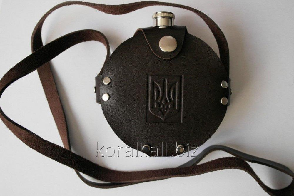 Buy Flask in a cover Ukraine