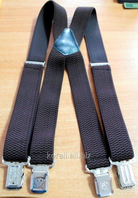 Buy Braces of a pomocha brown X - figurative