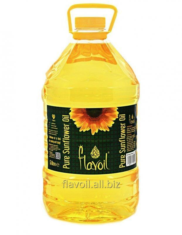 Sunflower oil  Volume: 5L Type of packaging: PET