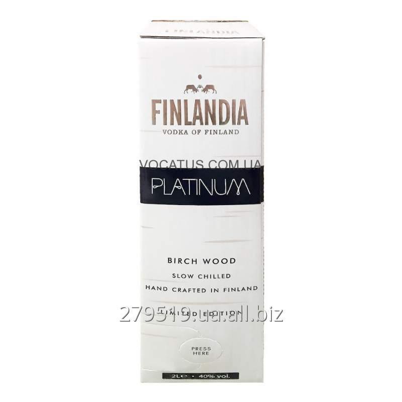 Водка Finlandia Platinum Финляндия Платинум 2 литра