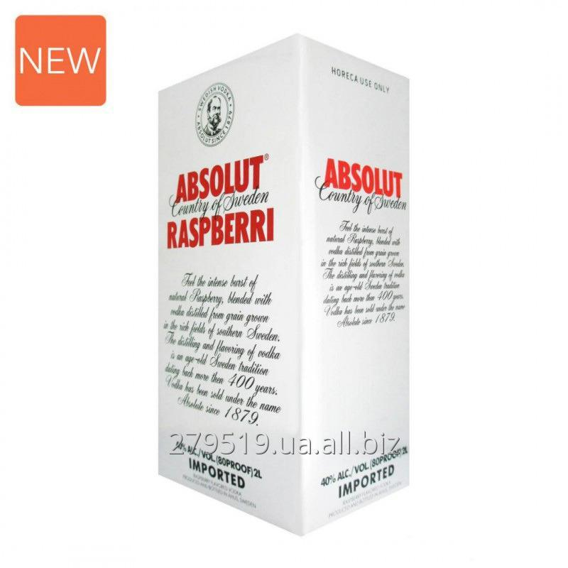 Купить Водка AbsolutRaspberry Абсолют Распбери 2L