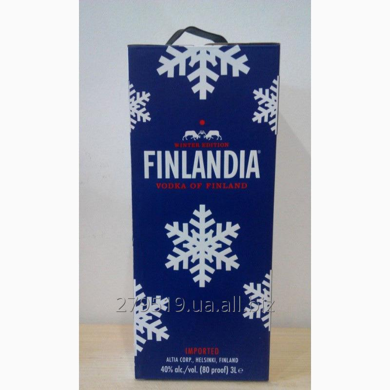 Водка Finlandia Winter Edition 3L Финляндия 3л