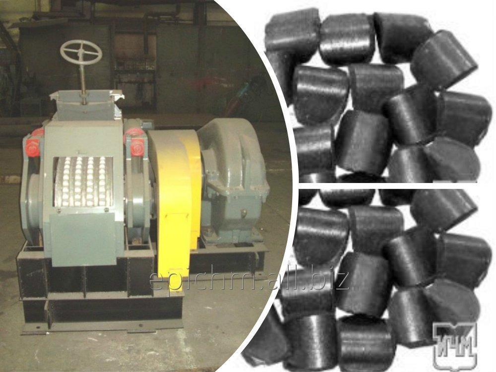 Пресс валковый для брикетирования торфа. Модель 24М