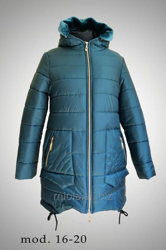 Пальто зимнее, модель 16-20