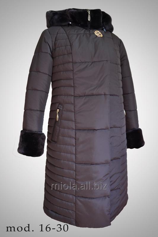 Пальто зимнее, модель 16-30