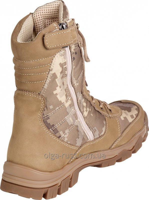 Army boots nubuck model 4346 Winter (fur, fur of the tsigal sheep) Summer (grid)