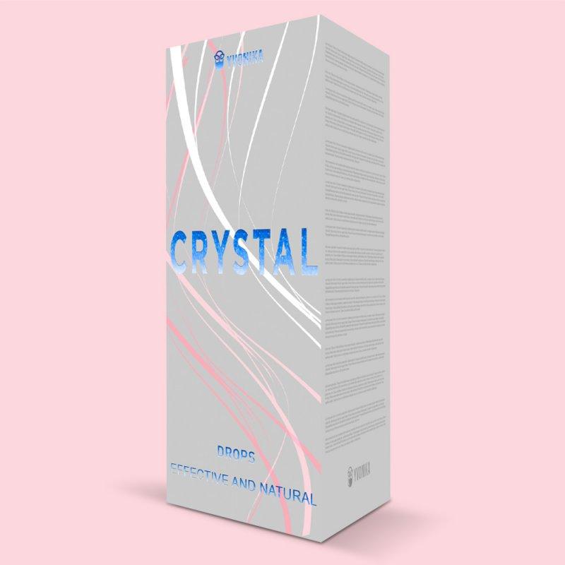 Капли для лечения гипертонии CRYSTAL кристал