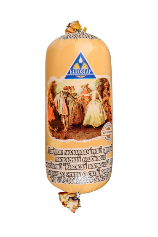 Купить Продукт сырный плавленый ломтевой Княжеский копченый 50% жира