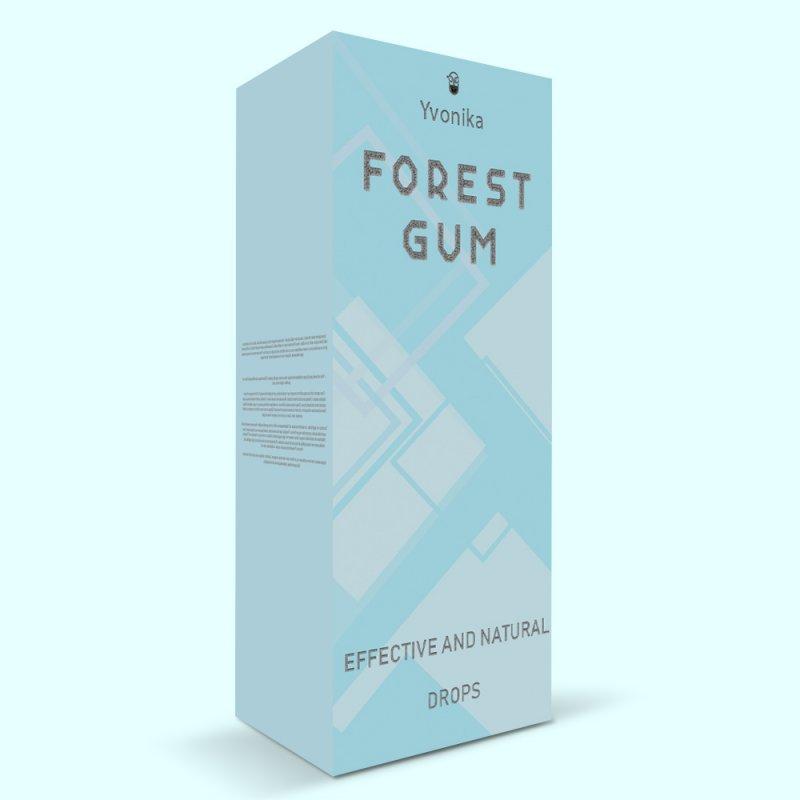 Средство от неприятного запаха изо рта Forest Gum форест гум