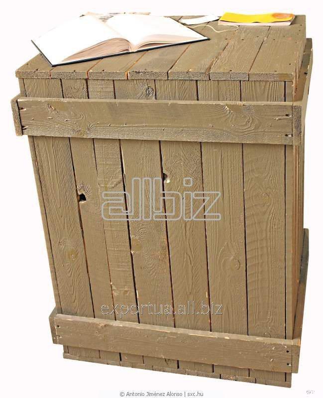 Коробки деревянные упаковочные из хвойных пород на экспорт