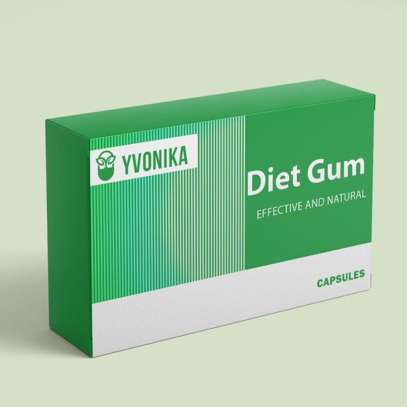 Капсулы для похудения Diet Gum диет гум