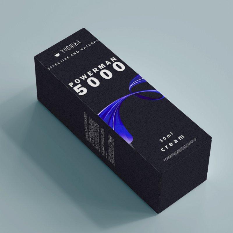 Крем для потенции Powerman 5000 павермен