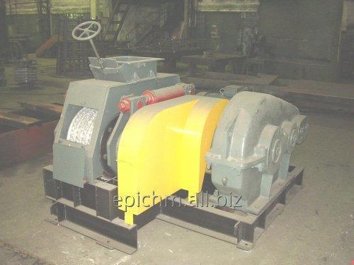 Валковый пресс для производства топливных брикетов. Модель 24М.