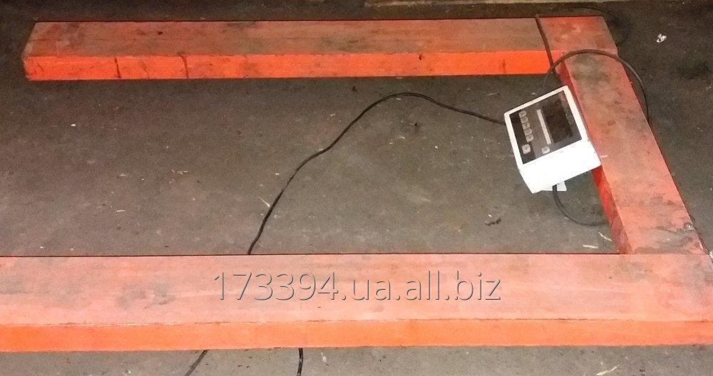 Купить Весы 4bdu3000П промышленные напольные электронные складские б/у до 3т
