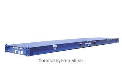 Купить Специальный контейнер 40-футовый контейнер платформа Platform