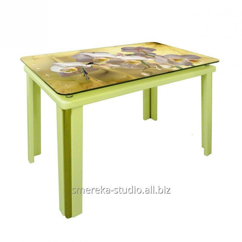 Buy Table Elza for a drawing room from a natural tree (the massif of a beech)