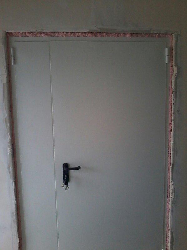 Двери противопожарные ЕІ-30, ЕІ-60: 1 и 2-польные