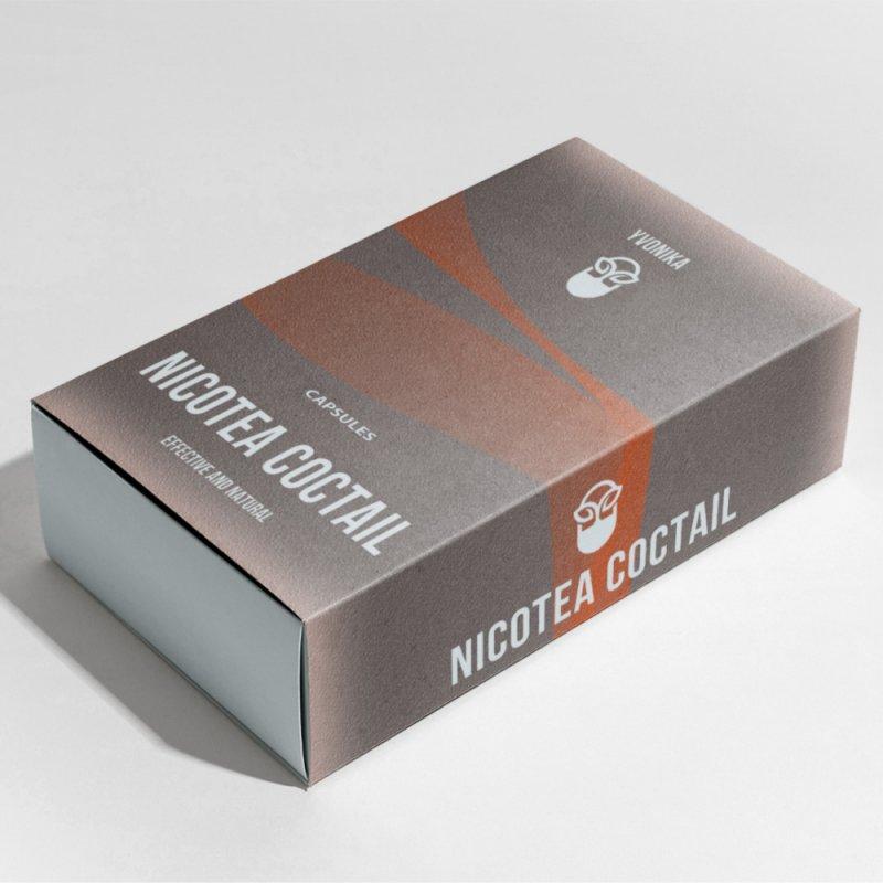 Коктейль от курения Nicotea Coctail никотиа коктейль