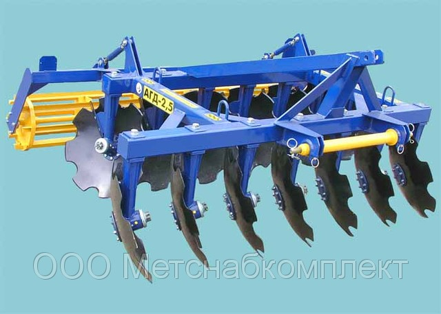 Gleby, uprawy agregacji dysku AGD-2,5