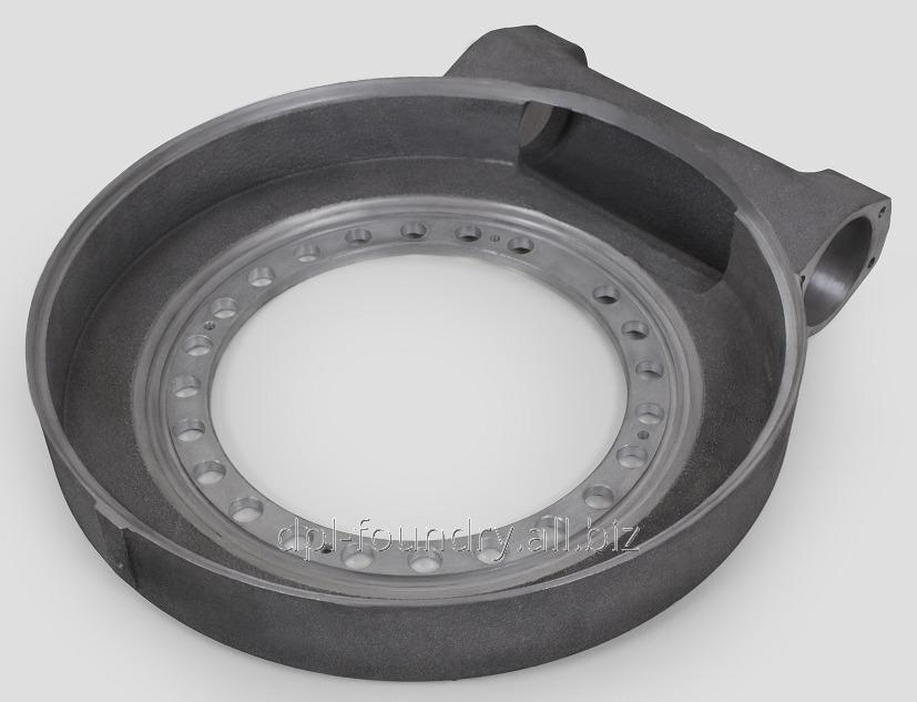 Купить Корпус поворотного привода<br />Марка сплава: ВЧ 500-7, Вес: 22 кг.