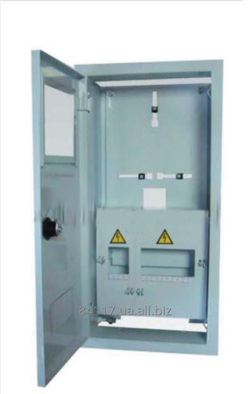 Купить Шафа обліку та розподілу електроенергії під 1-фазні лічильники Білмакс ЯУР-1 Н-8Е 270x440x90