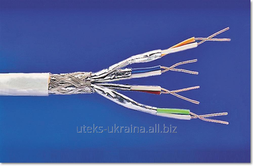 Кабель 7 категории КПпВонг-HFЭ-ВПЭ (600) 4*2*0,56 (F/FTP-cat.7 LSOH)