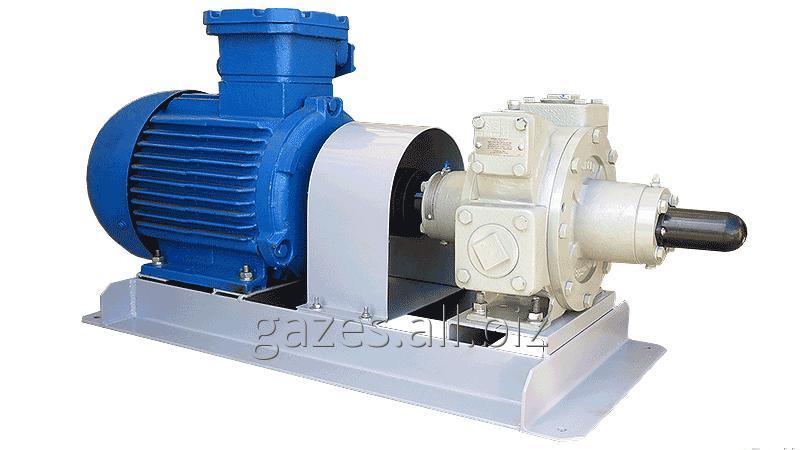 Насосный агрегат  Z2000 с эл.двиг. 4 кВт для ГНС, СУГ, пропана, бутана, сжиженого газа, налива АГЗС, газовых модулей, хранилищ газа