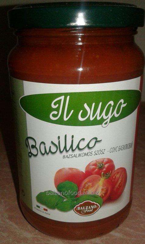 Купить Balzano Sugo al basilico - Соус c базиликом (370g)