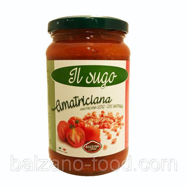 Купить Balzano Sugo all'amatriciana - Соус аматричана (370g)