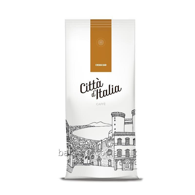 Купить Кофе Citta d'Italia Crema Bar: 100% robusta, 1kg