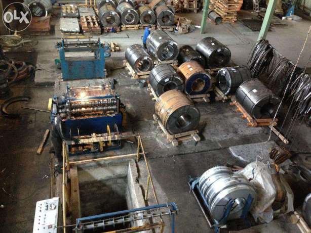 Metal rolling, Strip, Cutting, Tape, Tape packing, Strip, Galvanization.