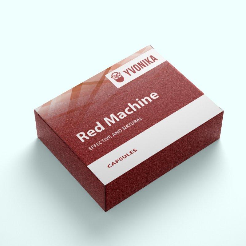 Капсулы Red Machine ред машин для потенции