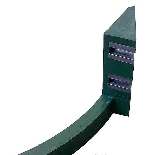 Лопатки для бетономешалок, скребки рециклинга