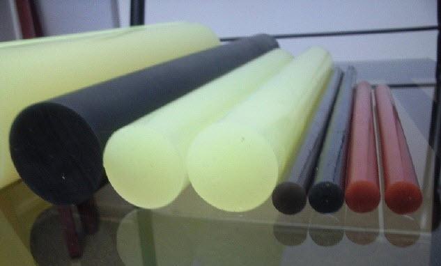 Полиуретановые стержни, круги