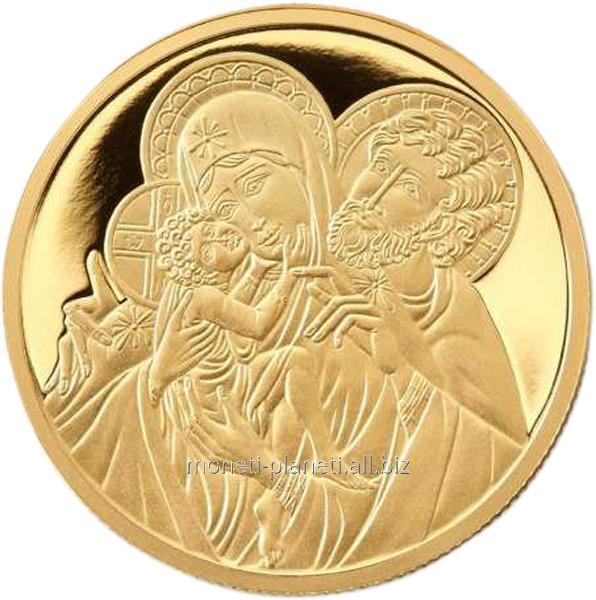 """Золотая монета """"Святое семейство"""""""