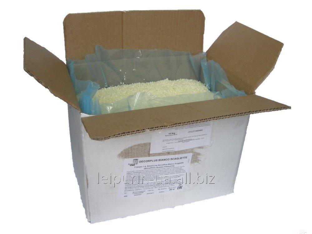 Глазурь кондитерская Decorplus Bianco Scagliette