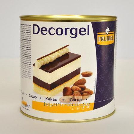 Dekorgel De chocolate
