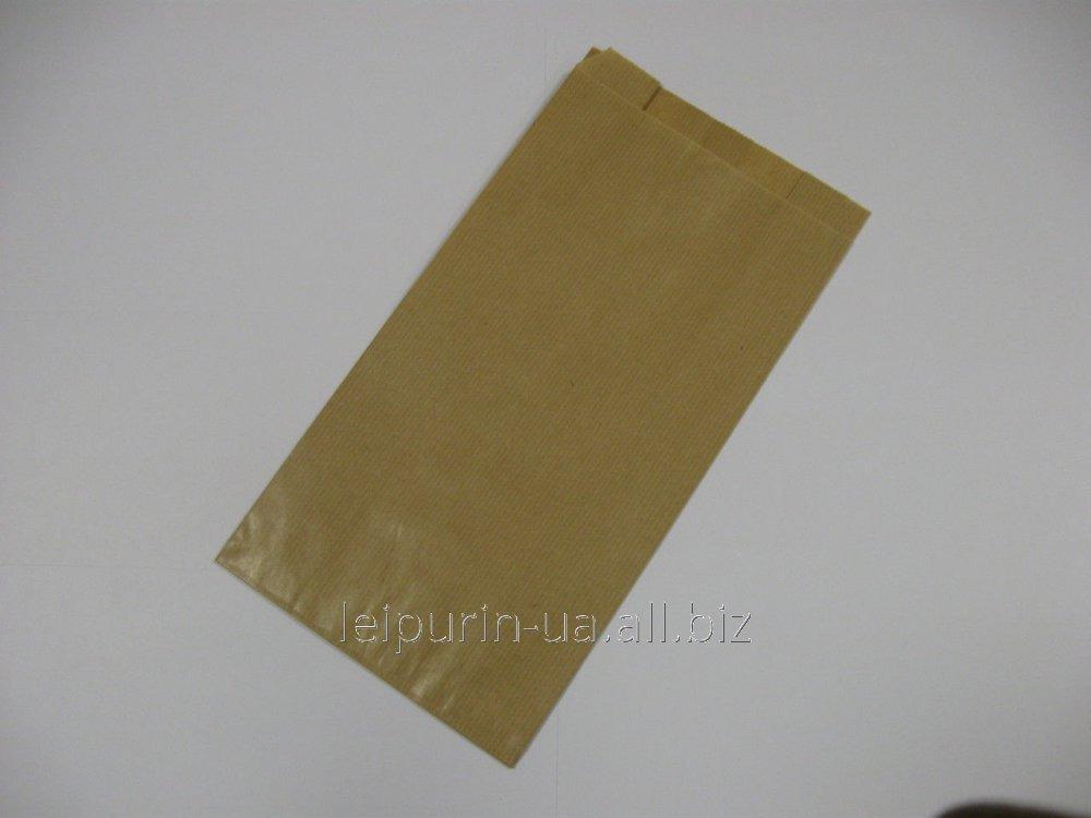 Пакет однотонный бумажный 2