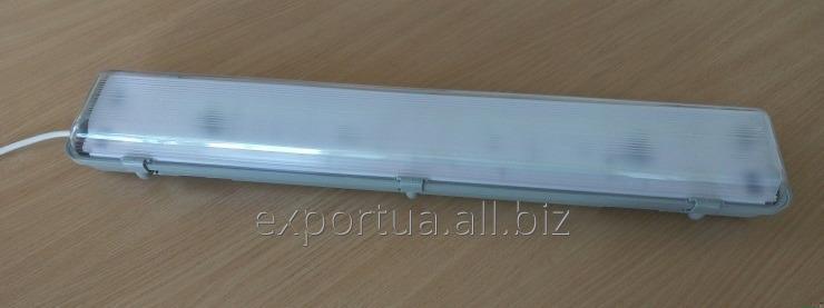 Промышленный светодиодный светильник. LED-РR-40W. Потребляет 40 Вт.