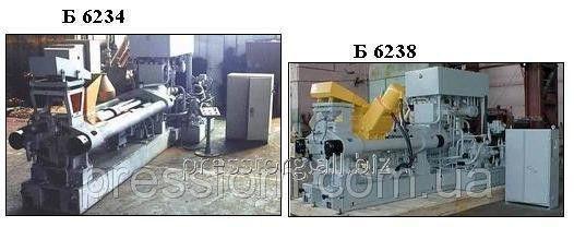 Пресс брикетировочный для стружки Б6238А, б/у