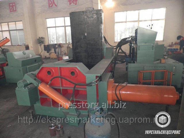 Пресс  пакетировочный для металлолома Y81Q-135