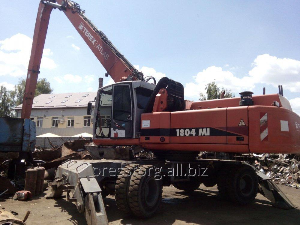 Buy Overloader of scrap metal Atlas 1804MI