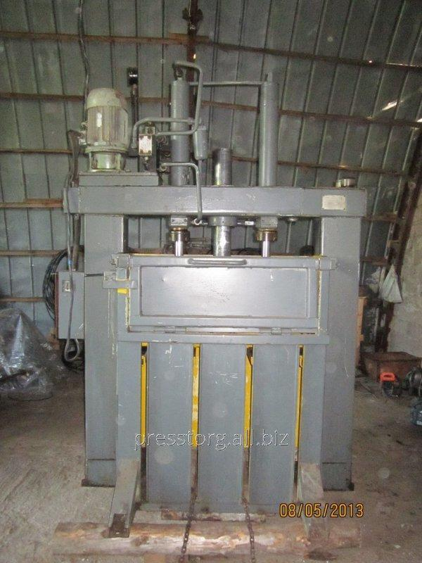 Press for waste paper bu, BA3121