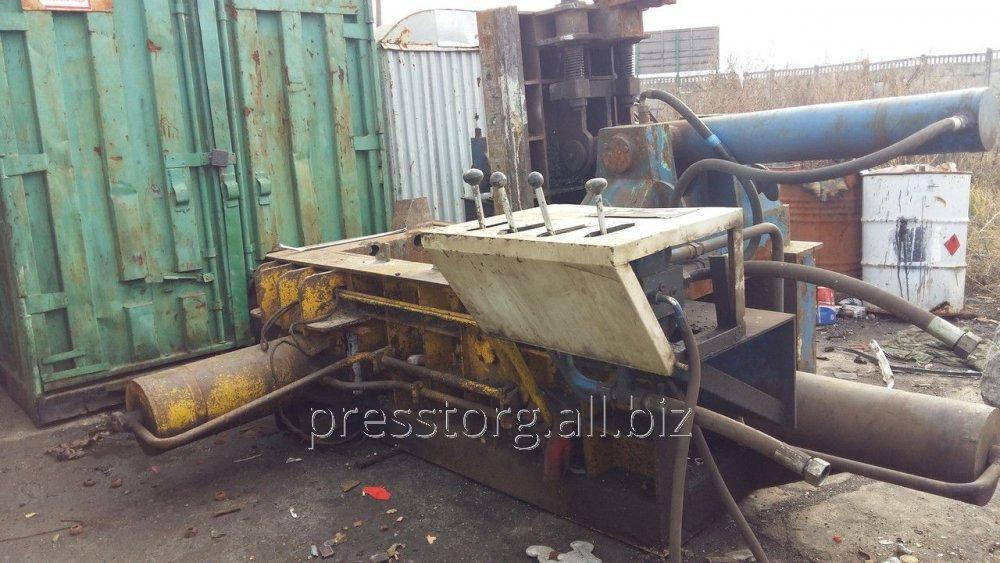 Press for scrap metal of Y81F-125 paketirovochny