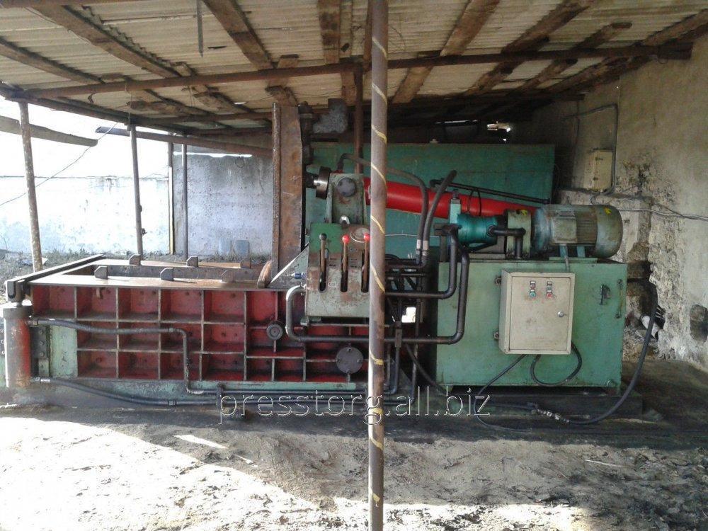 Press for scrap metal of Y81Q-135, 2012.