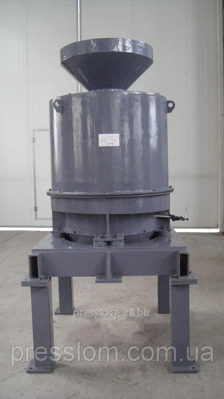 The centrifuge for purification of shaving from SOZH and oils