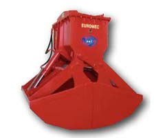 Specify the prices                        The grab two-maxillary hydraulic seriib.1500wf it is used for loading or unloading of bulks with specific weight up to 2,6 t / kub.m   • B_530 Special lines? Electromatic grabs with the axial and piston pump and t
