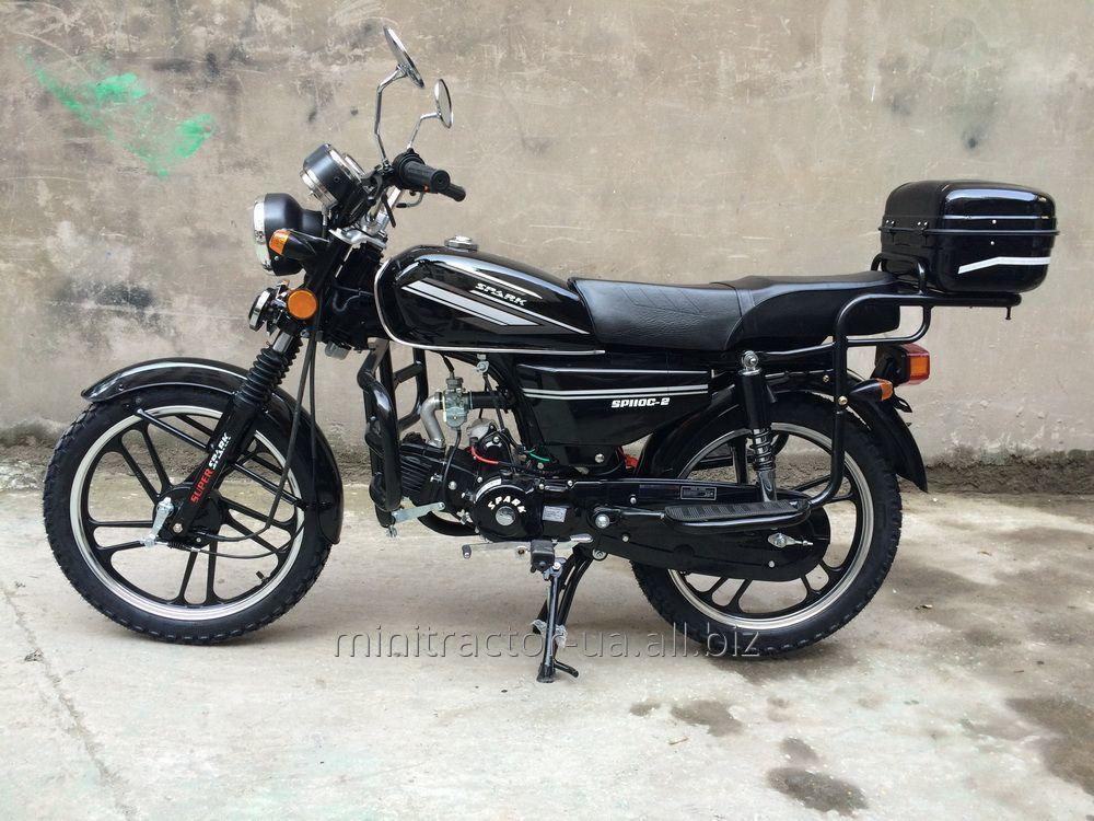 Spark SP110-2 moped (Alpha of 110 cubes)