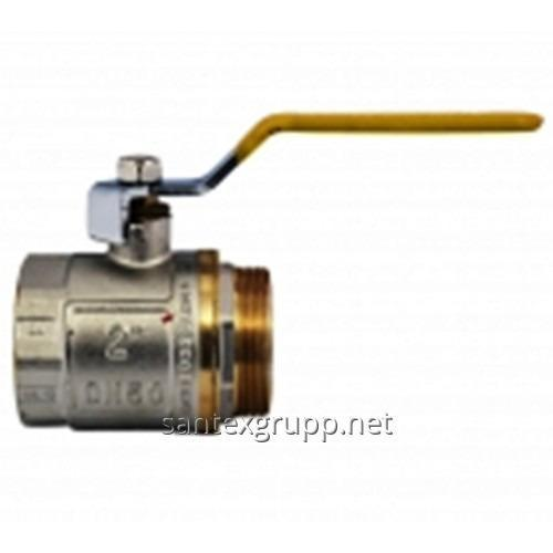 Кран шаровый 2 ВН ручка газ (Ду 50)
