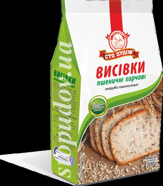 Купить Отруби пшеничные, 300 г